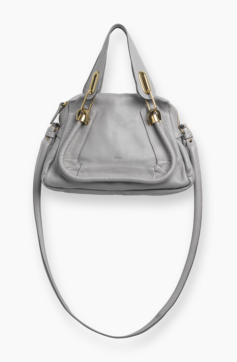 PARATY SMALL BAG IN GRAINED CALFSKIN cashmere grey