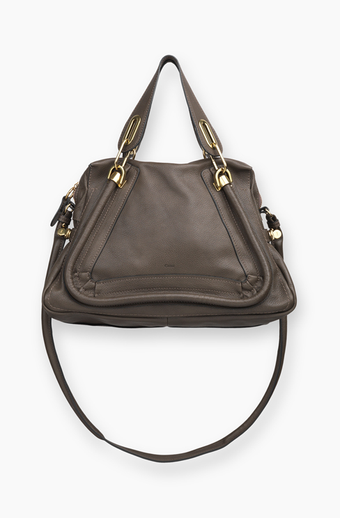 PARATY SMALL BAG IN GRAINED CALFSKIN rock