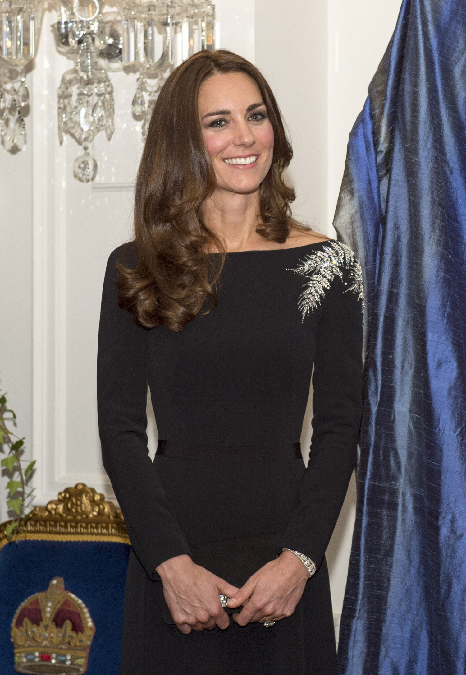 tubino nero kate middleton