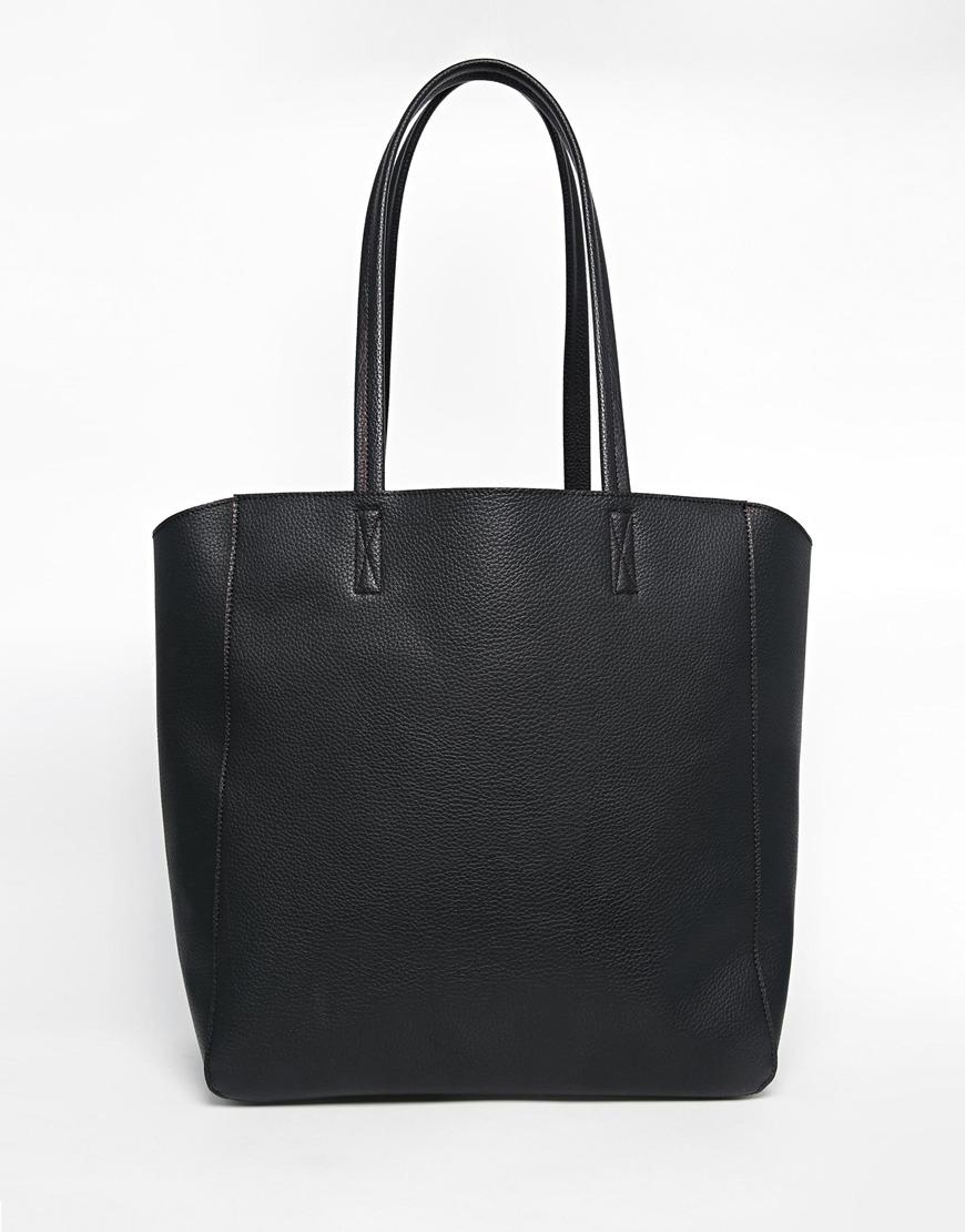 112_Borsa stile shopper Asos, in pelle leggermente zigrinata (27,99 € su Asos)