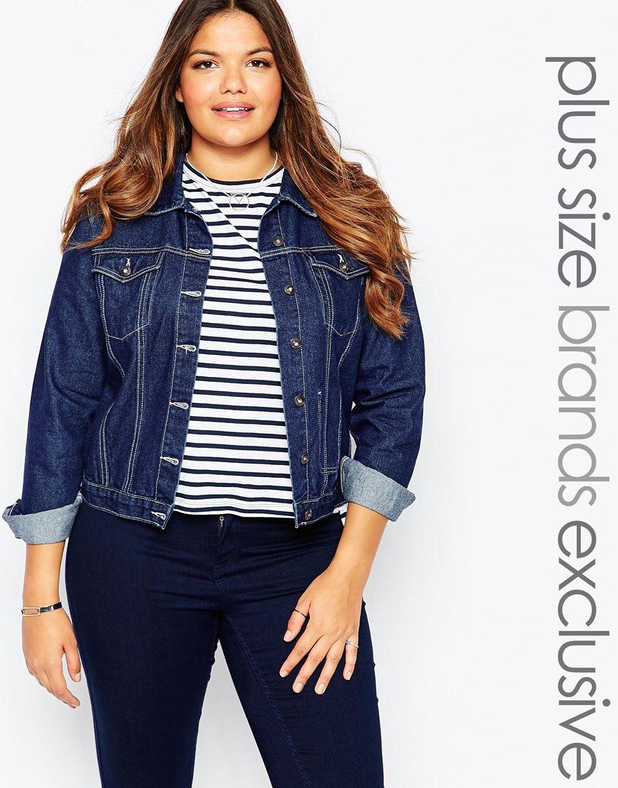 17_Giacca di jeans AliceandYou, modello non elasticizzato e chiusura con bottoni (50,99 € su Asos)