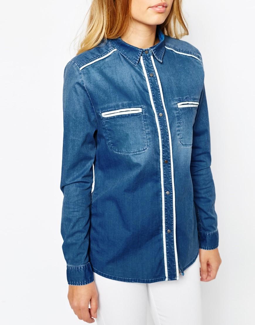 26_ Giacchettino leggero di jeans Pepe Jeans, stile anni Settanta e bordature a contrasto (89,99 € su Asos)