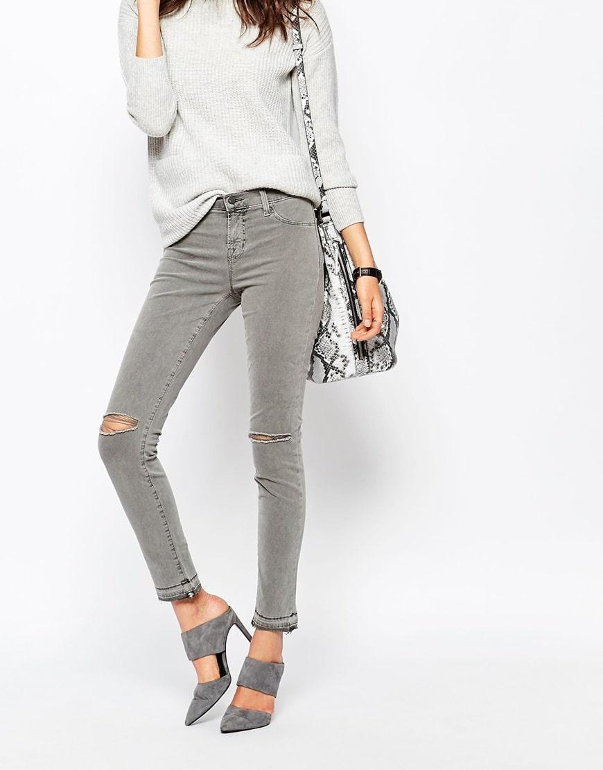 4_jeans strappati donna