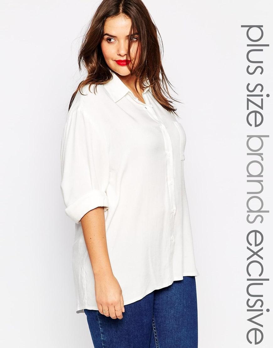 75_Camicia Alice & You, con colletto a punta e tasca applicata (33,99 € su Asos)