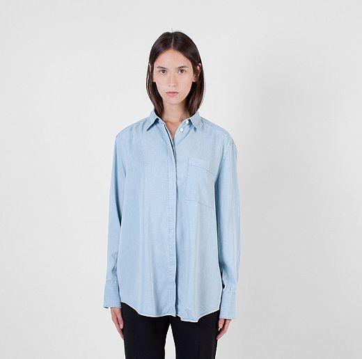 Camicia di jeans acne studio
