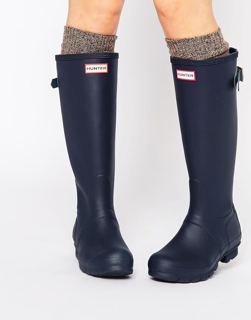 ... stivali gomma hunter Stivali da pioggia ... c37b5241621