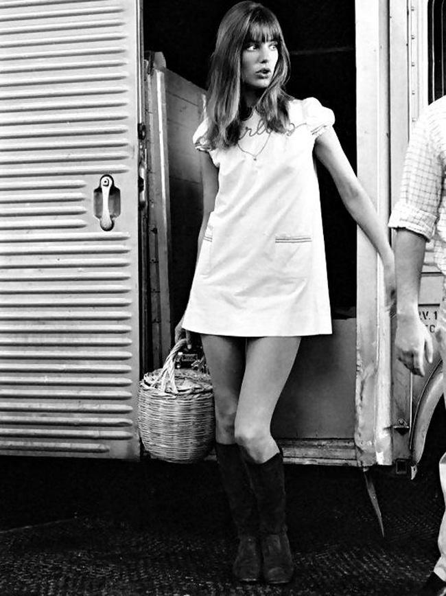 jane birkin vestiti anni 70