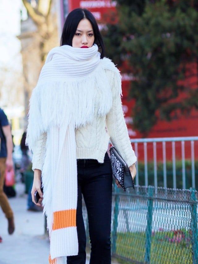 maxi sciarpa inverno 2016