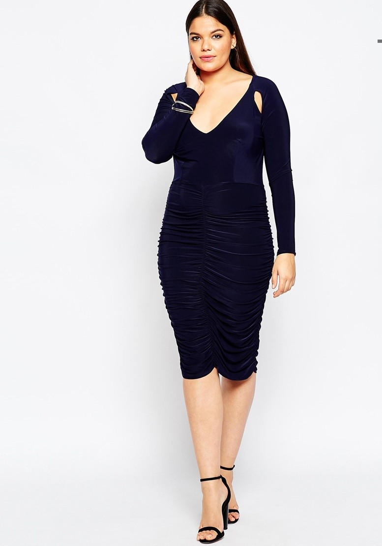 9 Holiday party look abiti curvy