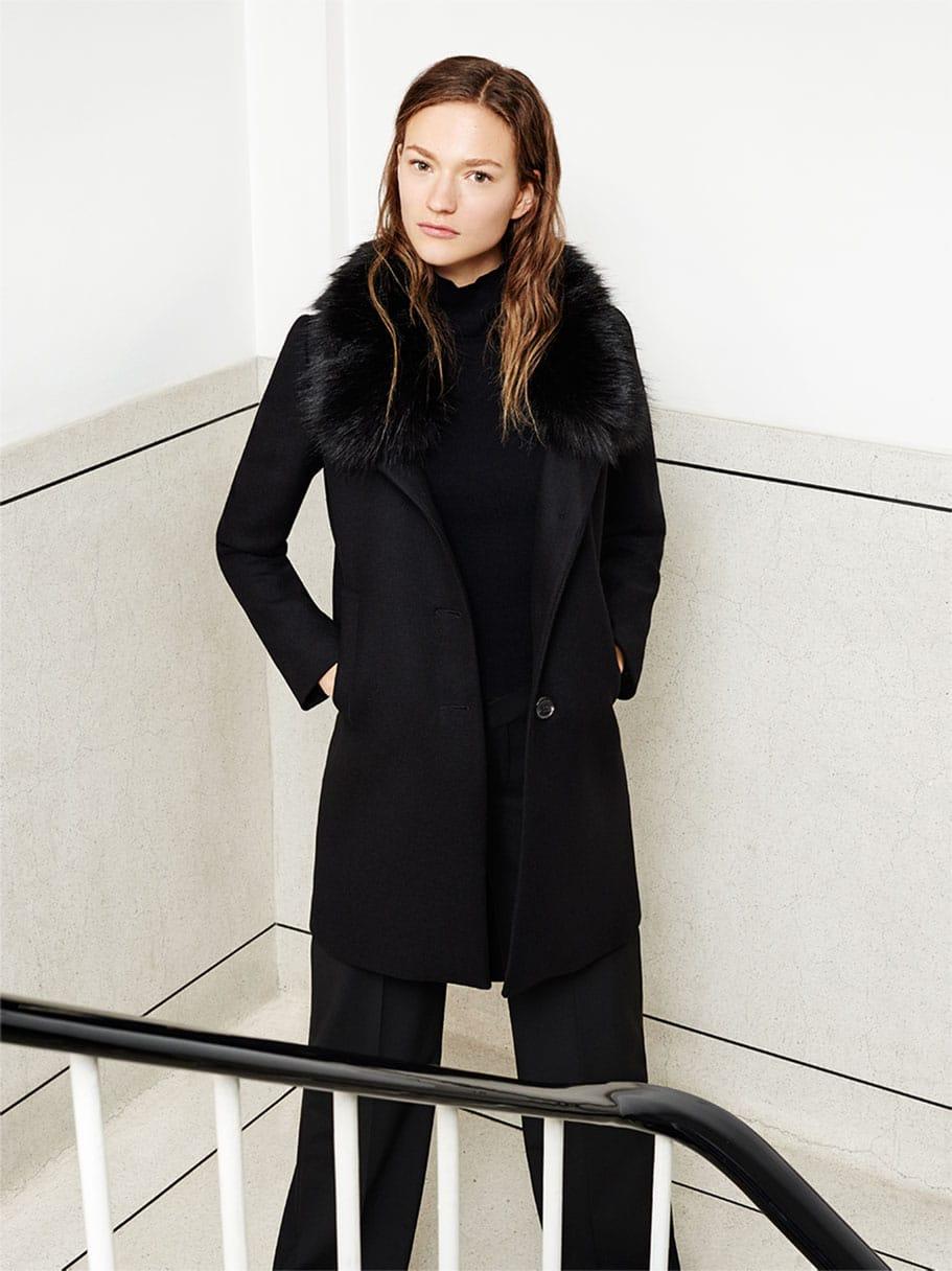 cappotto nero donna