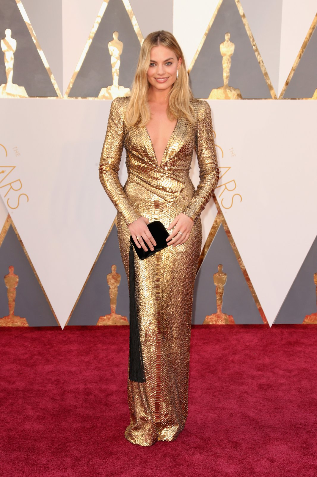 Margot Robbie in Tom Ford oscar 2016