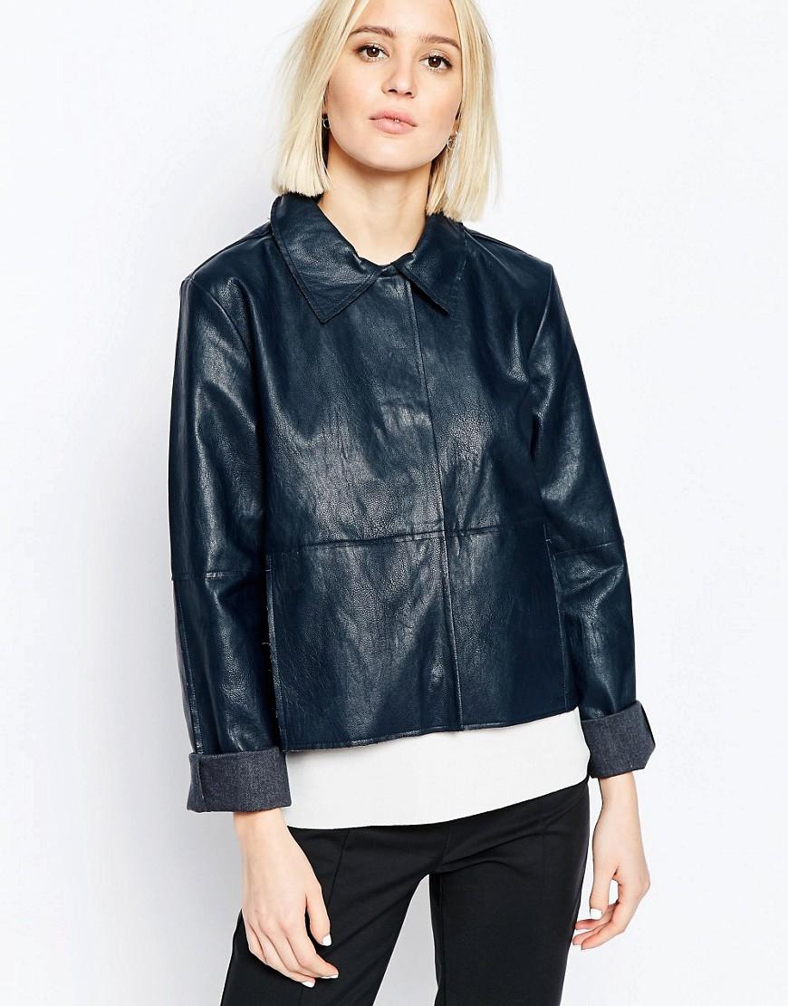 giacche pelle primavera 2016