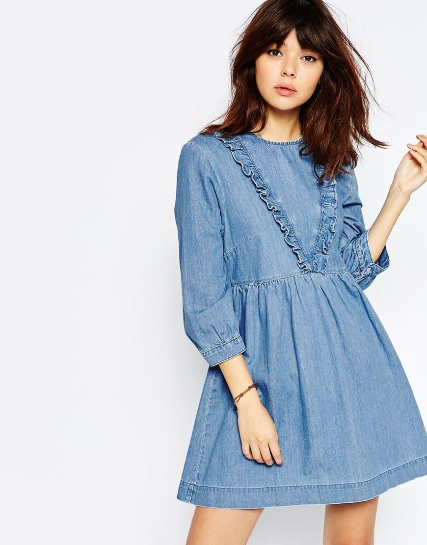 vestito jeans primavera 2016
