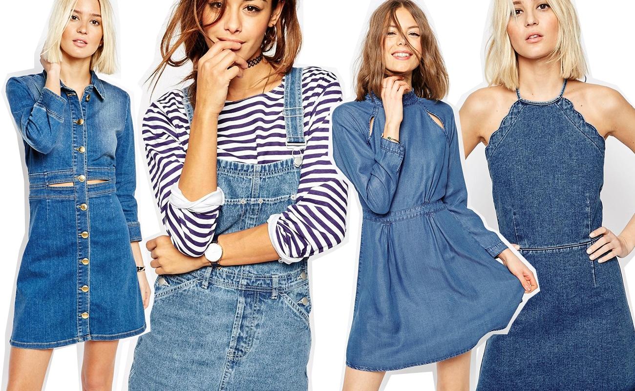 info for 96b8e 52ad0 Vestiti in jeans, 15 modelli nuovissimi per la primavera 2016