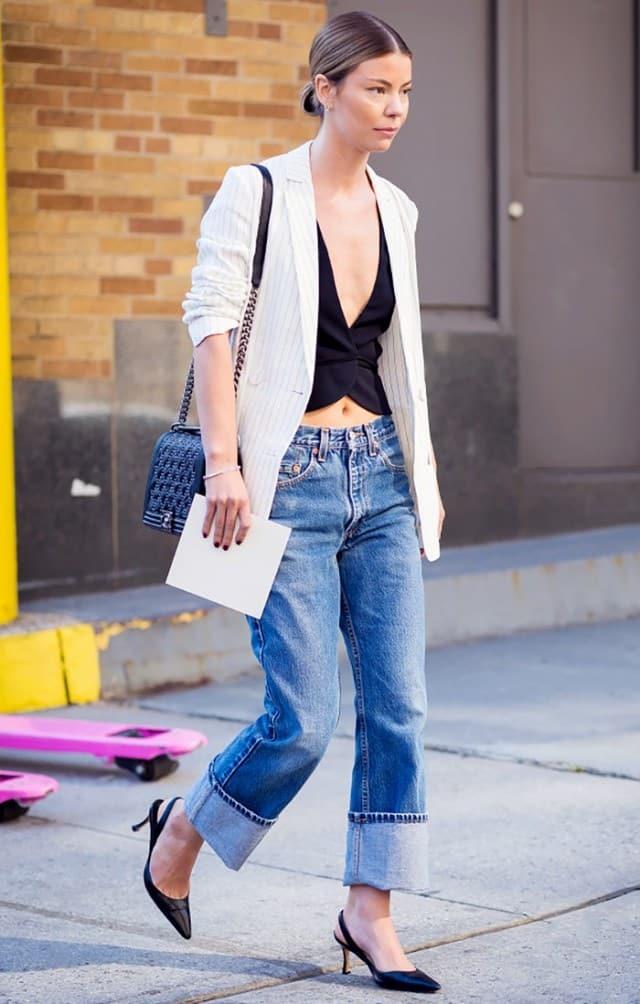 jeans a vita bassa