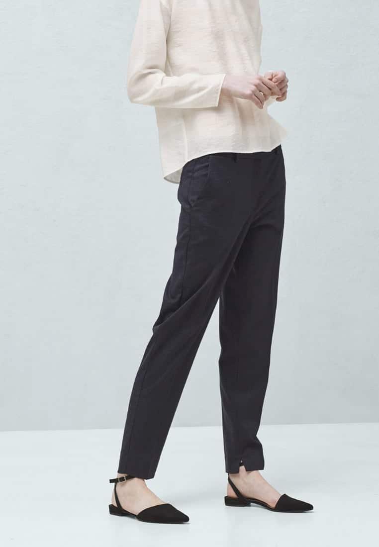 pantaloni vita alta