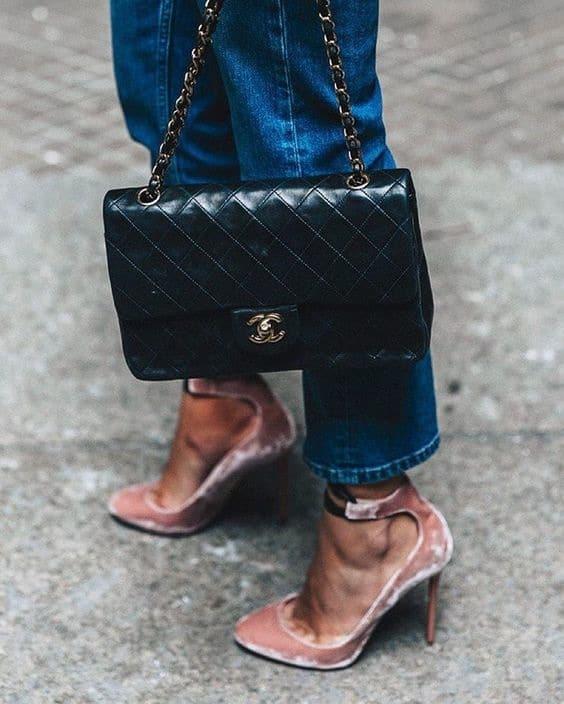 abbinamento scarpe borsa