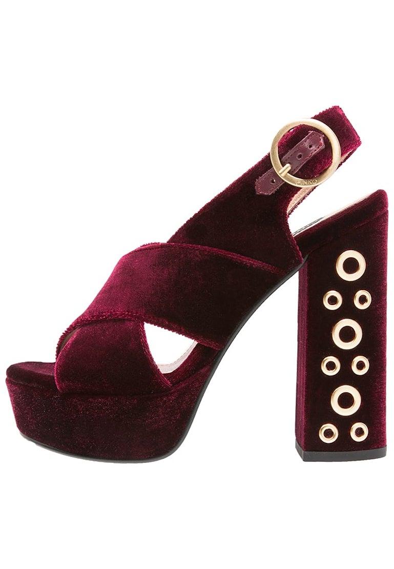 scarpe tendenza velluto autunno 2016