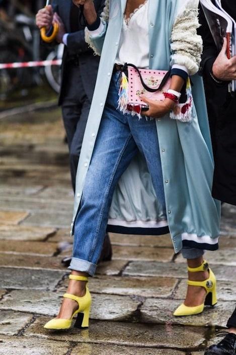 borsa e scarpe vanno abbinate?