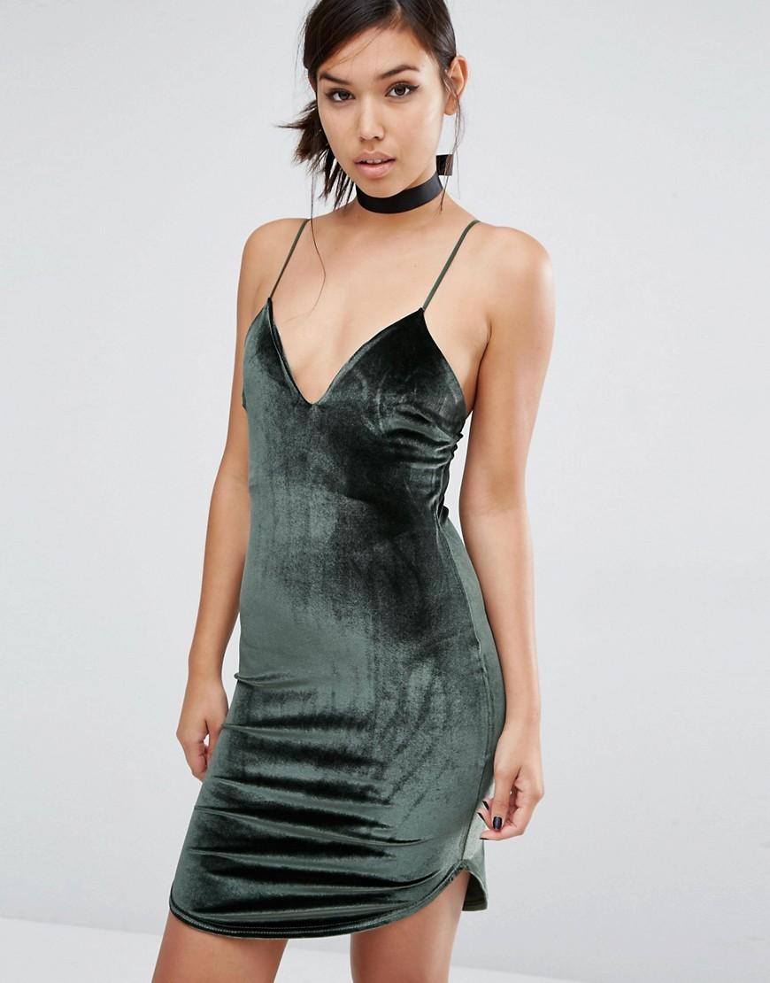 vestito velluto moda 2016