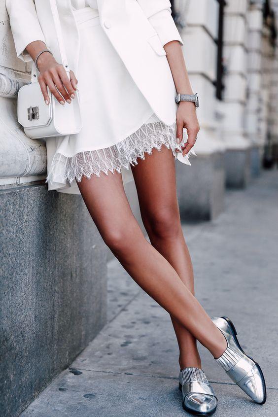 scarpe metalliche