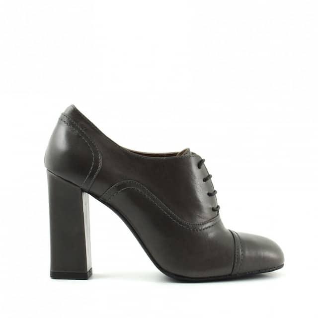 francesine scarpe pelle grigio