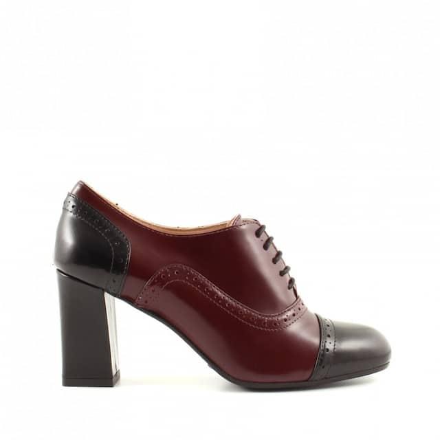 francesine scarpe bicolore