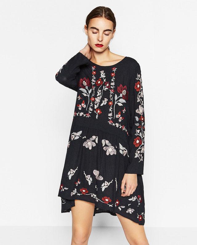 vestiti fiori inverno 2016