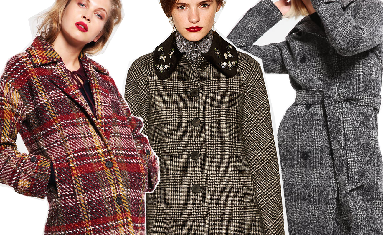online retailer 5b190 c89bb Cappotti a quadri: come indossare il cappotto a quadri e 18 ...
