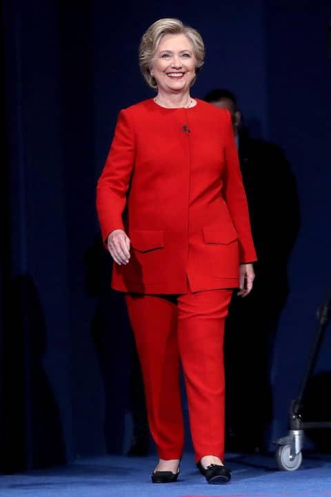 Scelte Clinton Delle Della E Significato I Di Look Stile Il Hillary 7wUBSw