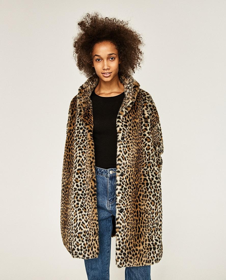new product 7e869 6e6e0 Come indossare il cappotto animalier: consigli e idee