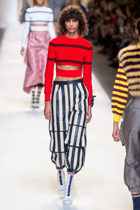 Tendenze moda primavera 2017 colori e grafismi