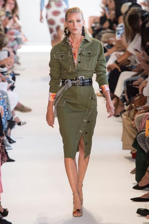 Tendenze moda primavera 2017 verde militare
