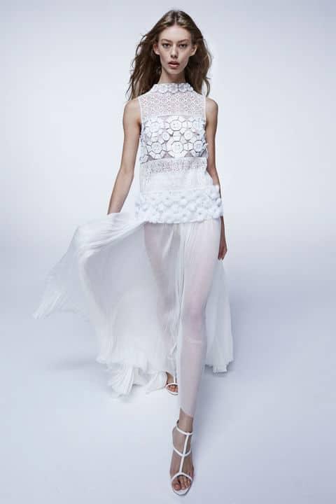 Tendenze moda primavera 2017 bianco