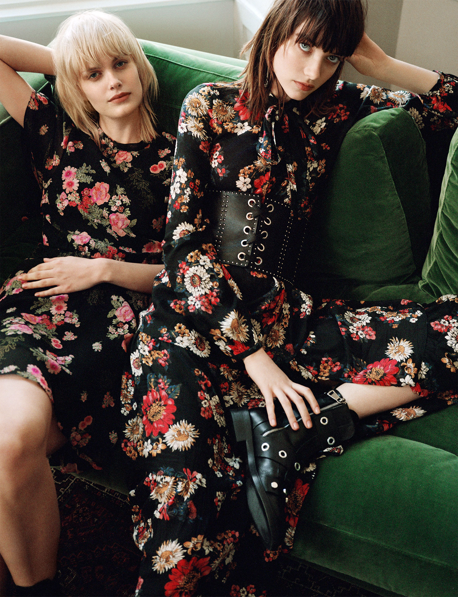 Vestiti lunghi fiori zara – Abiti corti 05249dcf6ae