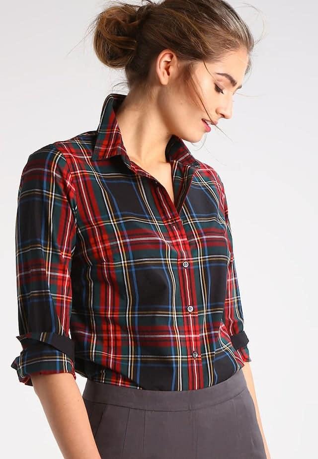 camicia quadri flanella stile anni 90