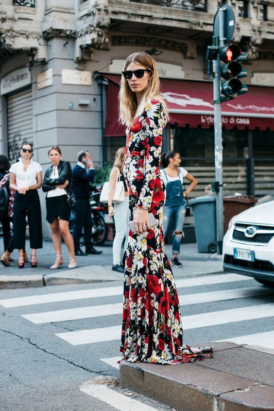 info for 5cab1 1e7a7 Vestiti lunghi a fiori: 30 modelli da comprare subito!