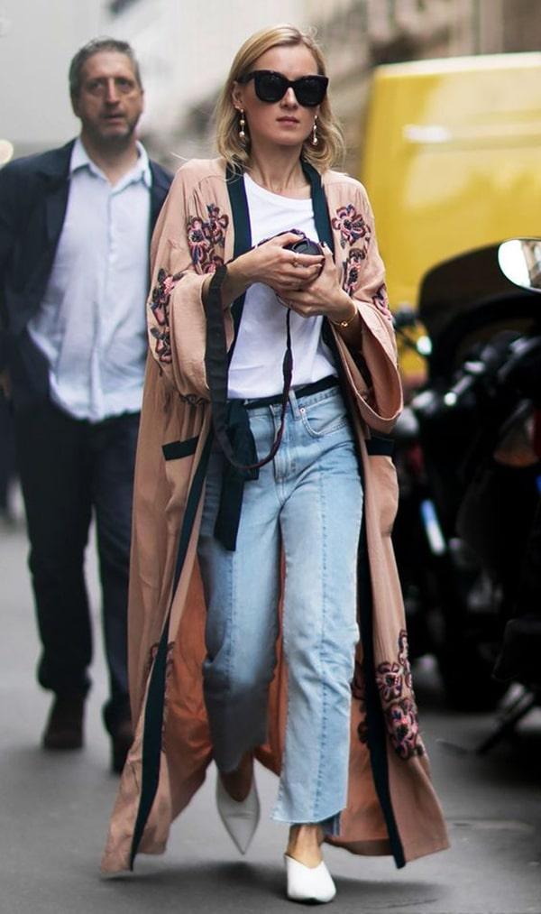 Kimono e denim