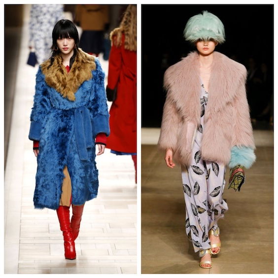 tendenze moda inverno 2017/2018 pelliccia 2
