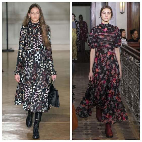 tendenze moda inverno 2017/2018 fiori 2