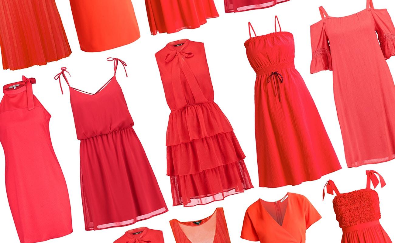 18aac26d9493 Vestiti corti rossi  20 modelli per l estate 2017