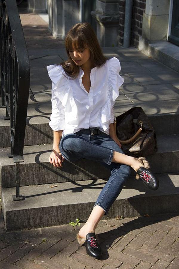 Jeans e camicia