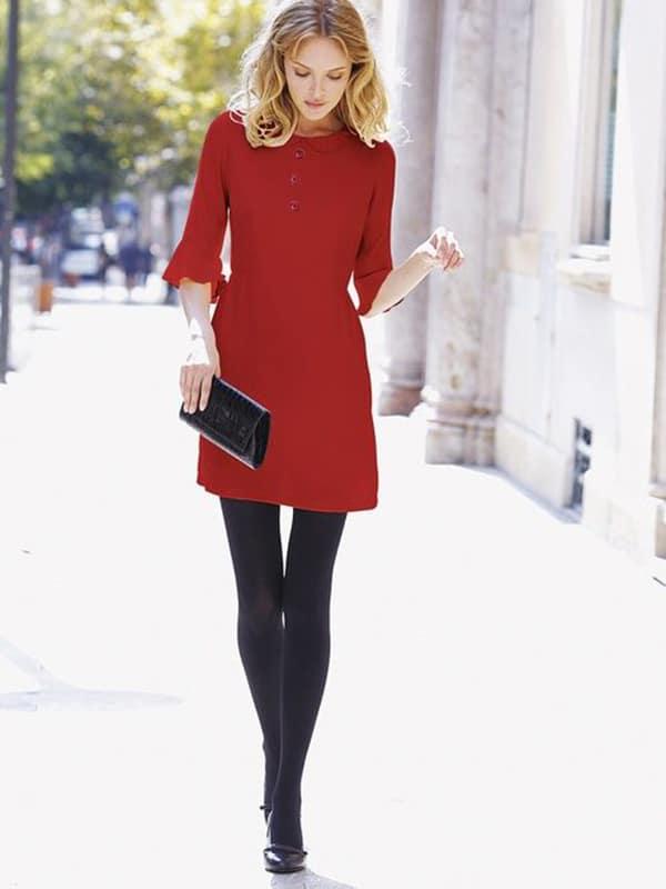Abito rosso elegante