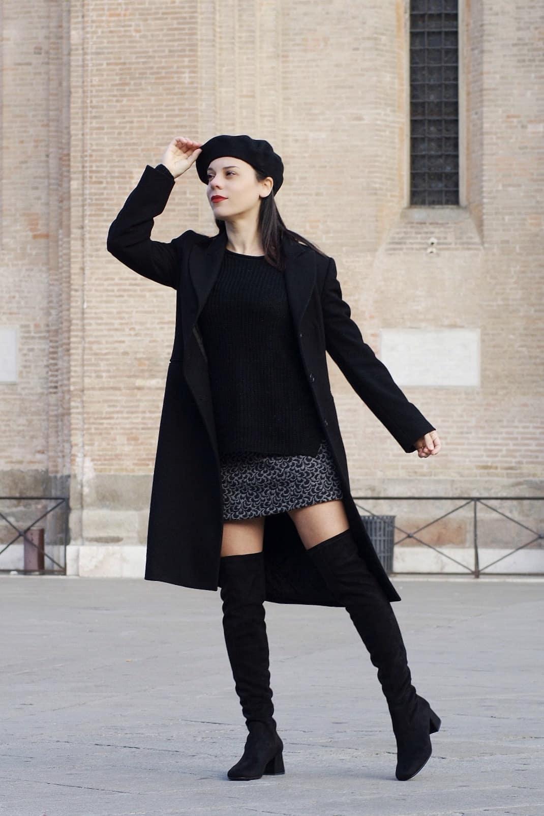 maglione di lana kik outfit