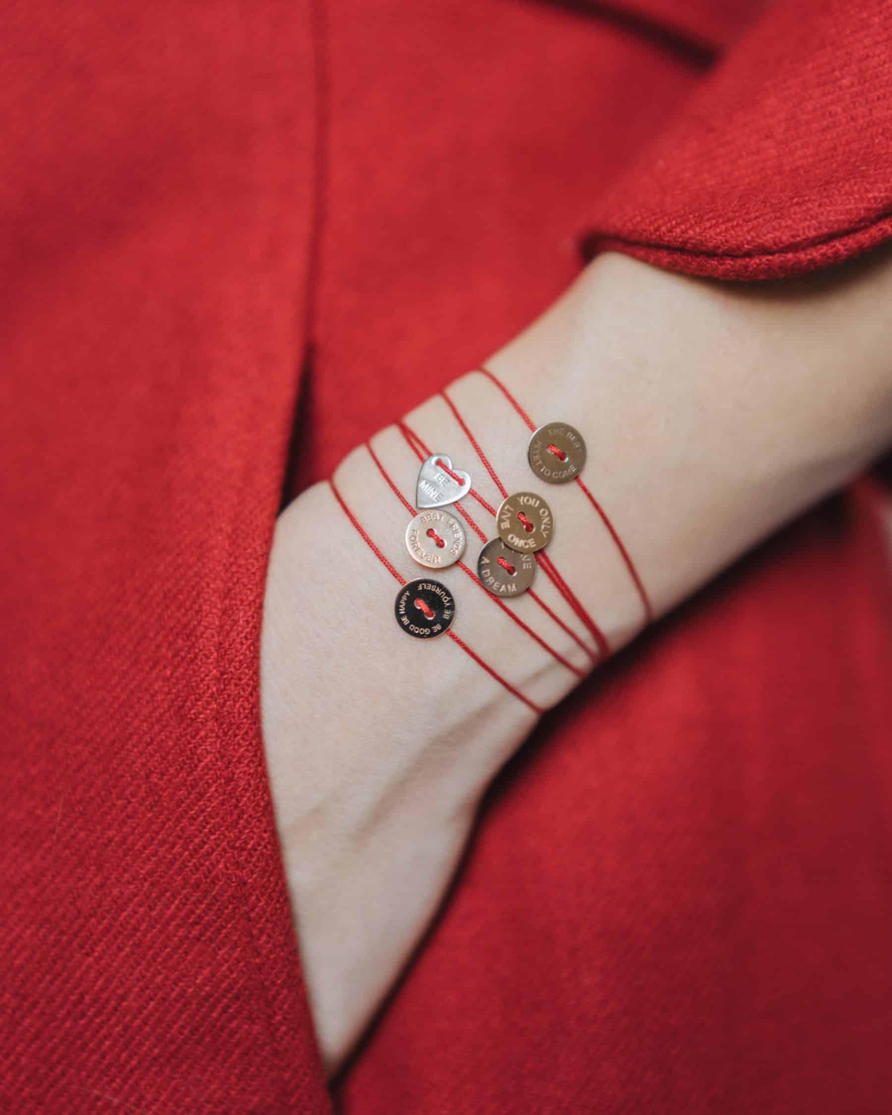 burato porta fortuna braccialetto sottile