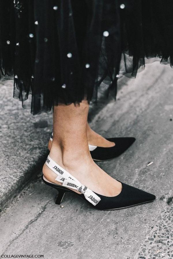Scarpe con tacco mini