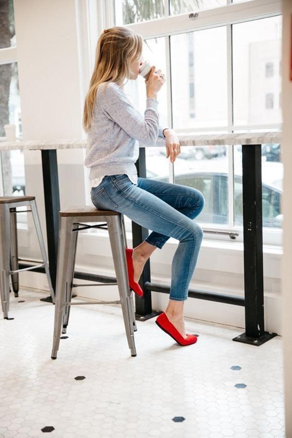 Jeans skinny e ballerine
