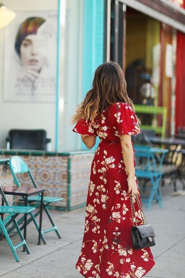 Maxi dress a fiori