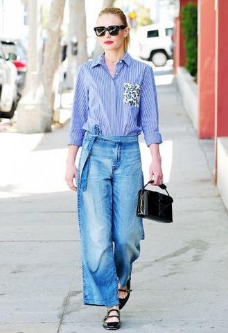 pantaloni larghi abbinamenti