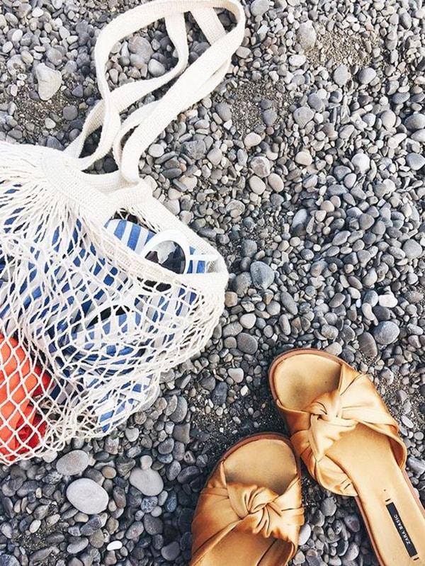 Borsa da mare a rete